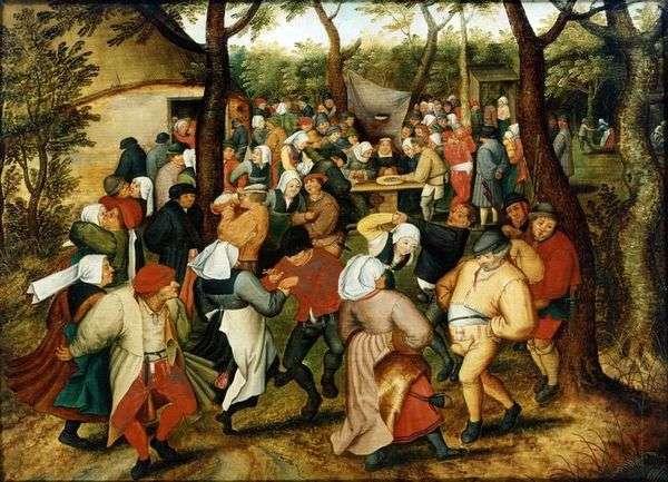 ウェディングダンス   Peter Bruegel