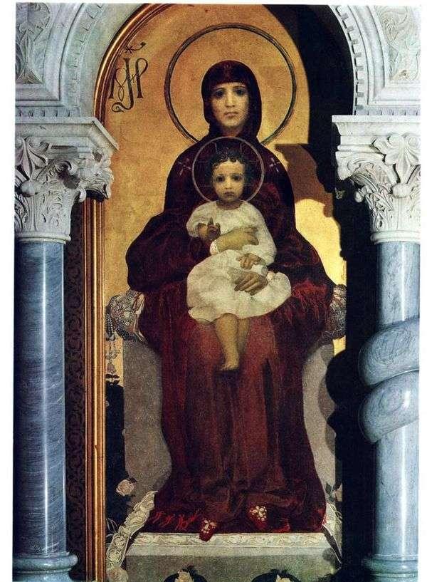 聖母子   ミハイル・ヴルベル
