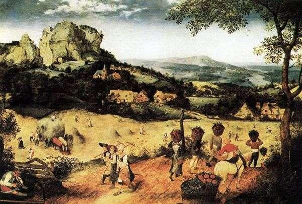 干し草作り   Peter Bruegel
