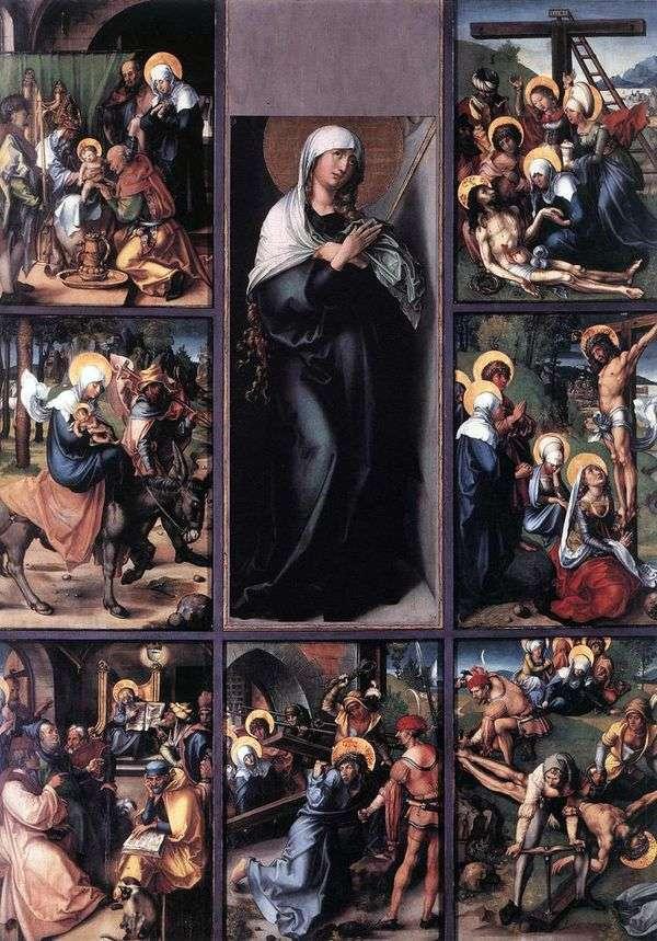 マリアの七つの情熱   Albrecht Durer