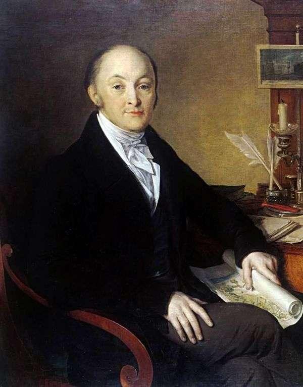 ミハイルミカイロビッチSperansky   Vasily Tropininの肖像