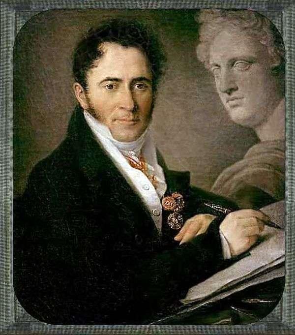 N. I. Utkin   Vasily Tropininの肖像画