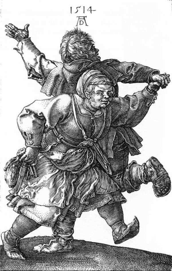 農民のダンス   Albrecht Durer