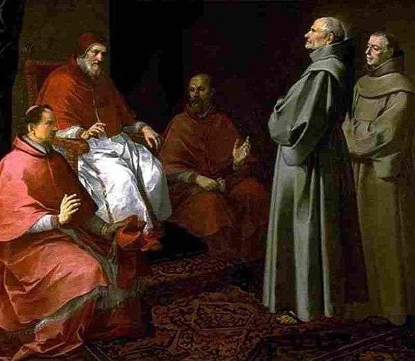 グレゴリー9世   Bartolomeo Esteban Murilloの前に祝福されたジル