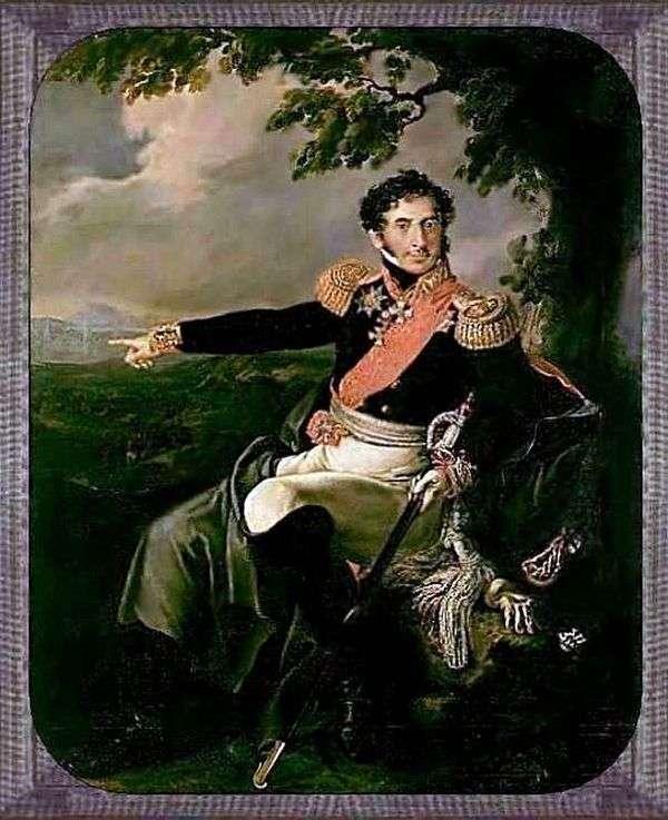P. I. Bagration   ヴァシリートロピニンの肖像