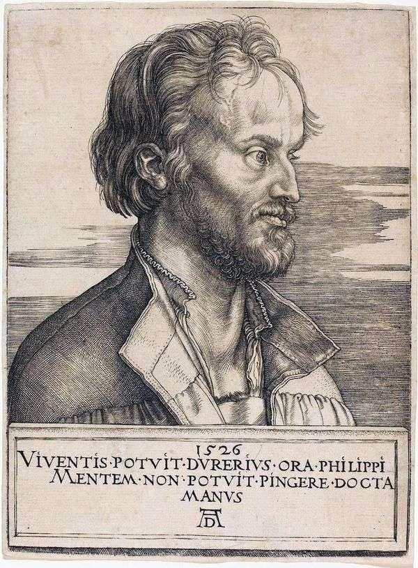 Philip Melanchthon   アルブレヒトデューラー