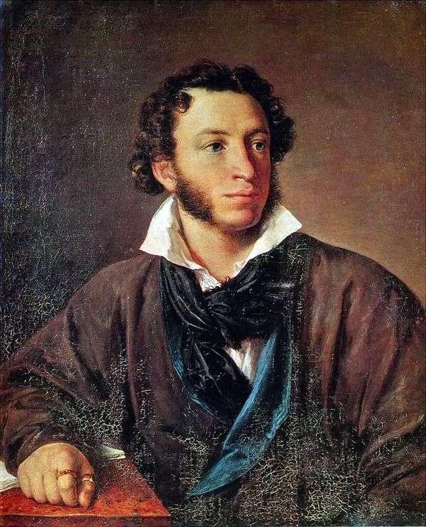 プーシキン   ヴァシリートロピニンの肖像画