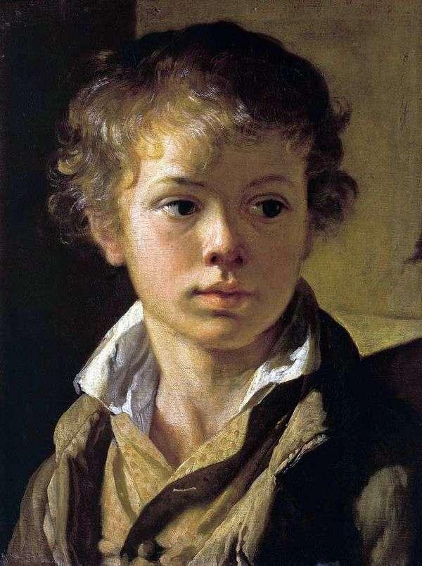 芸術家の息子   ヴァシリー・トロピニンの肖像