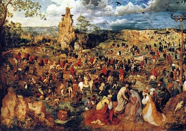 カルバリー行列   Peter Bruegel