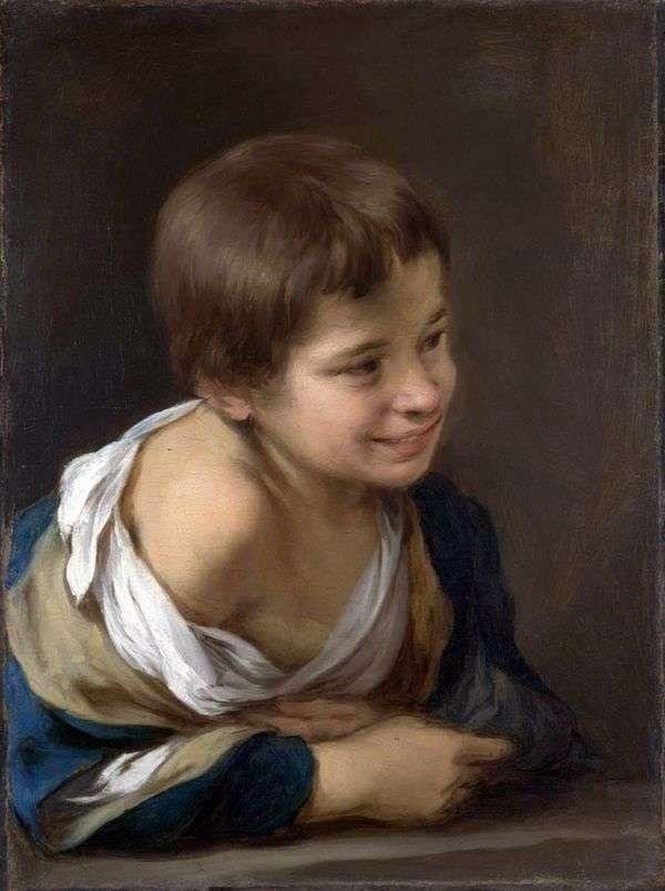 農民の少年   バルトロメエステバンムリーリョ