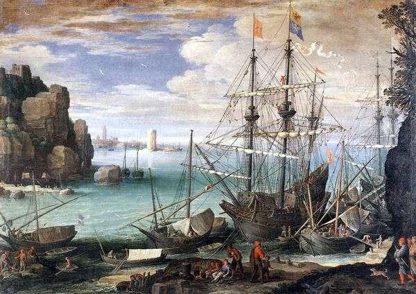 港の眺め   Paul Bril