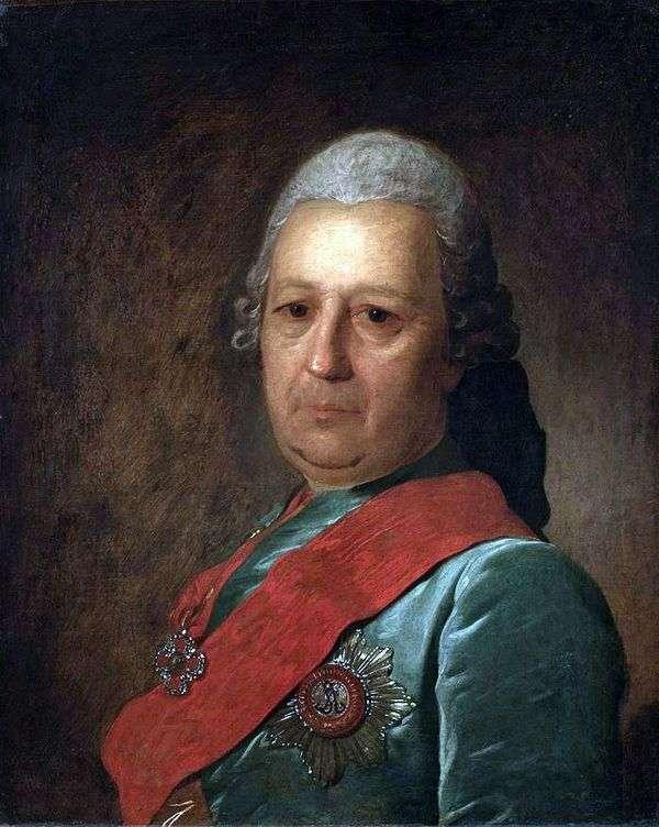 A. M. Obreskov   Fedor Rokotovの肖像