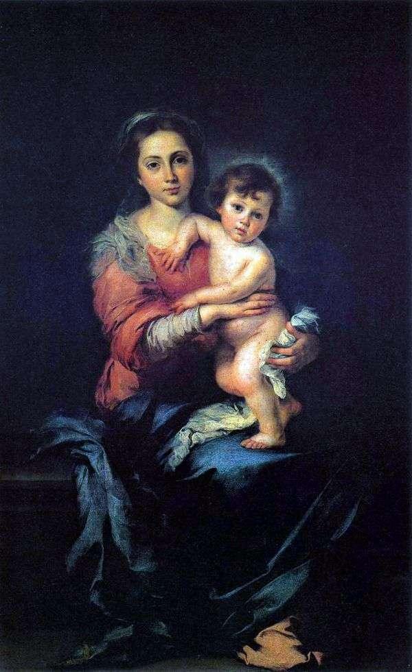 マドンナと子   バーソロミューエステバンムリーリョ