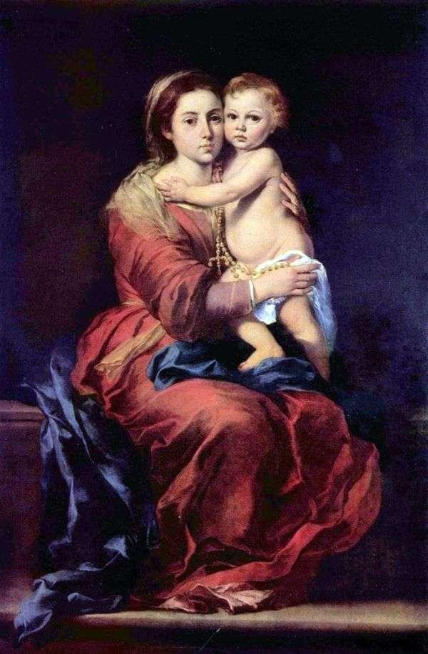 ロザリオの聖母マリア   バルトロメエステバンムリーリョ