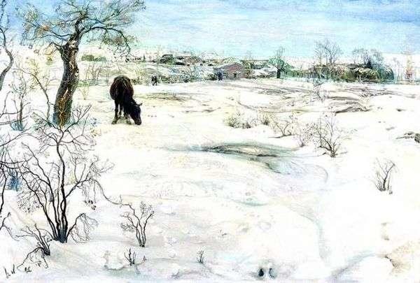 冬   アイザックブロツキー