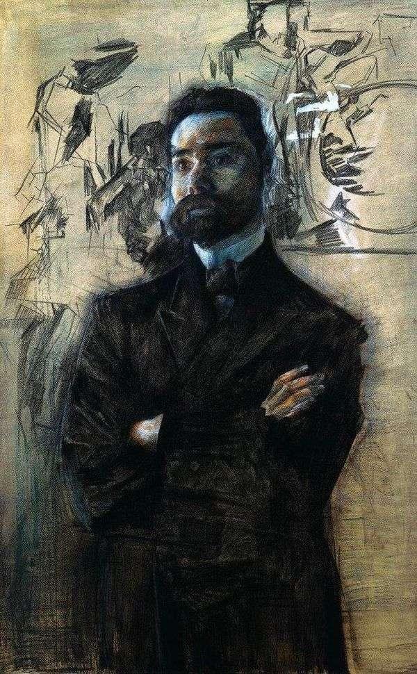 V. Ya. Bryusov   Mikhail Vrubelの肖像画