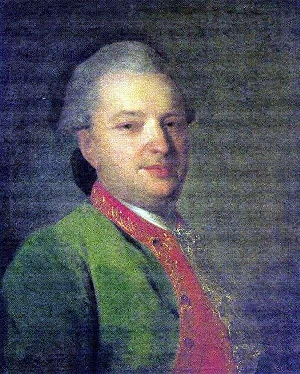 V. I. Maykov   Fedor Rokotovの肖像