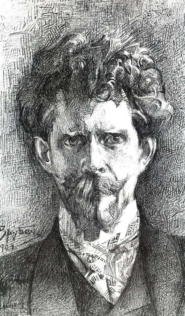 F. A. Usoltsev博士の肖像   ミハイル・フルベル