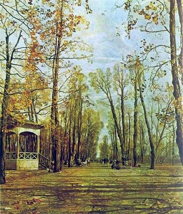 秋のサマーガーデン   Isaac Brodsky