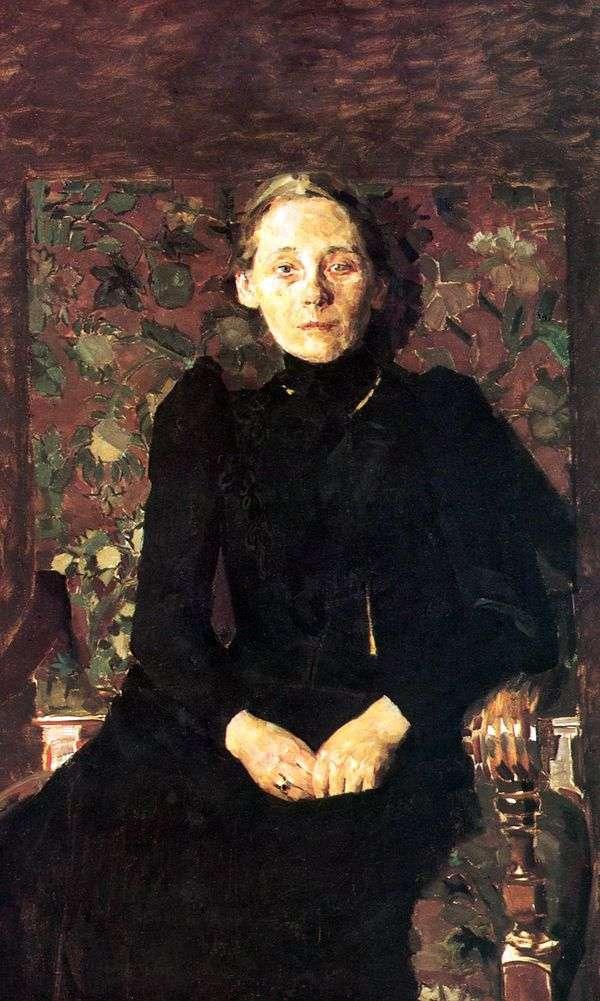 M. I. Artsybushevaの肖像   ミハイル・ヴルベル