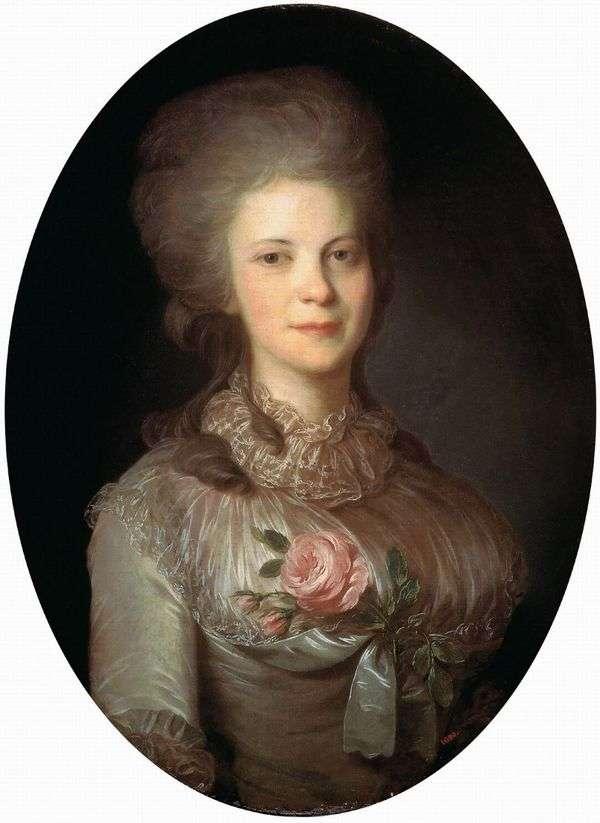 Varvara Nikolaevna Surovtseva   Fedor Rokotovの肖像画
