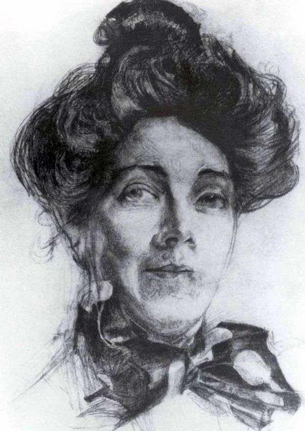 N. I. Zabely   Mikhail Vrubelの肖像画