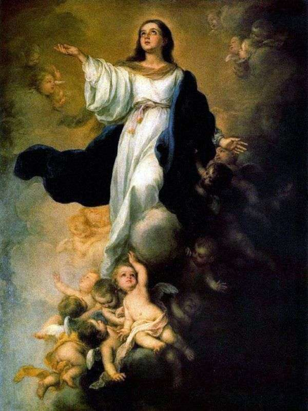 聖母マリアの被昇天   バルトロメエステバンムリーリョ