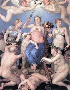 幸福のアレゴリー   Agnolo Bronzino