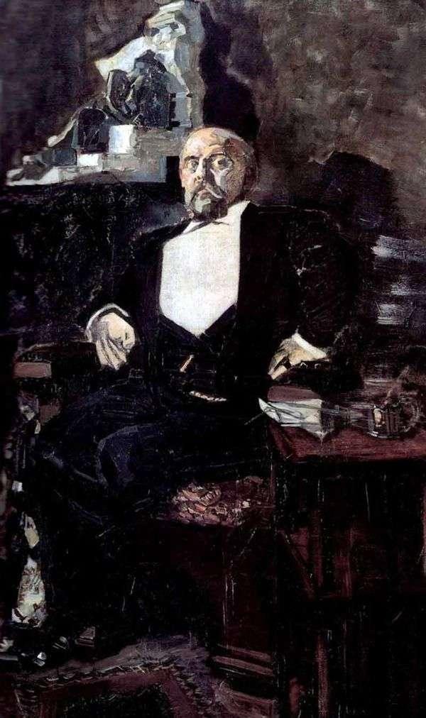 Savva Mamontov   Mikhail Vrubelの肖像画