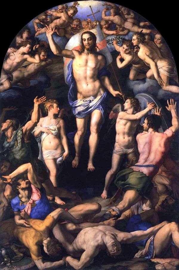 キリストの復活   Agnolo Bronzino