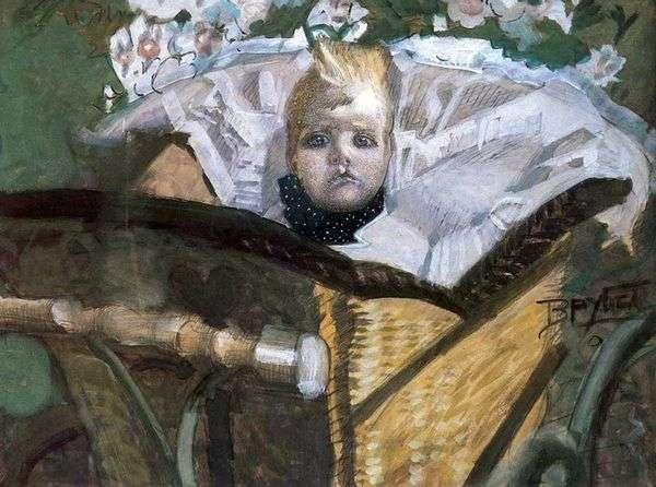 アーティストの息子の肖像   Mikhail Vrubel
