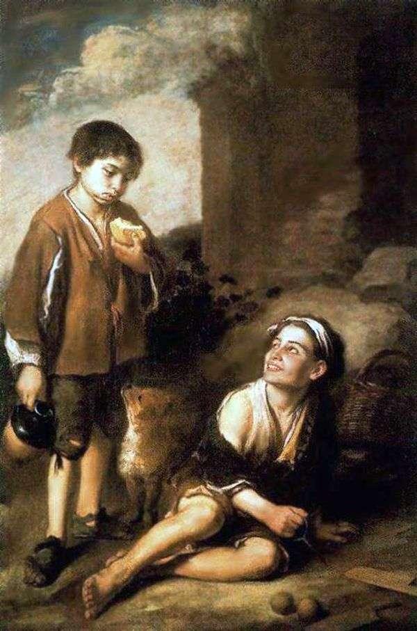 ラプタへの招待   Bartolomeo Esteban Murillo
