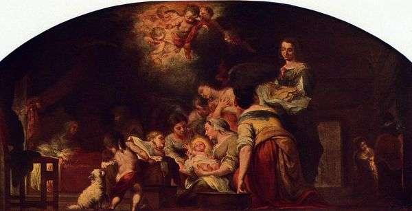 聖母降誕   バルトロメエステバンムリーリョ