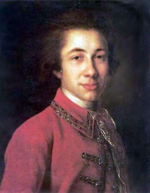I. B. Kurakin   Fedor Rokotovの肖像