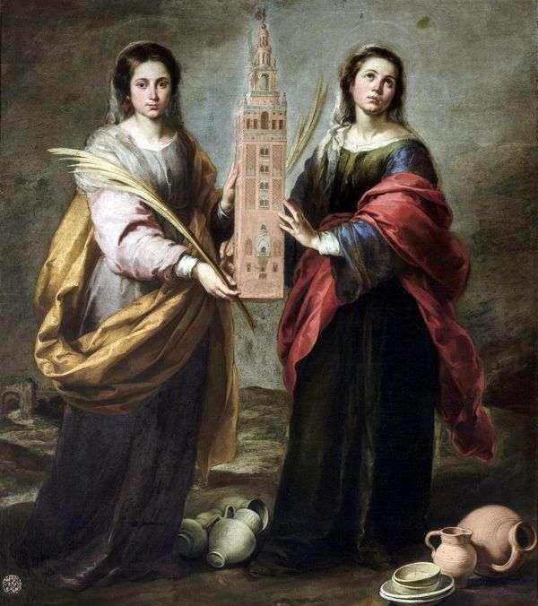 St. Justin and St. Rufina   バルトロメオエステバンムリーリョ