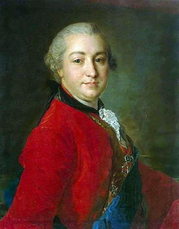I. I. Shuvalov   Fedor Rokotovの肖像