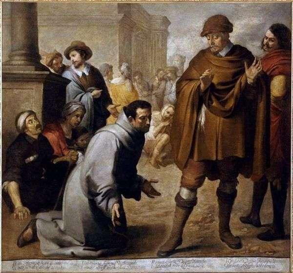 聖サルバドールオルタとアラゴンの審問官   バルトロメオエステバンムリーリョ