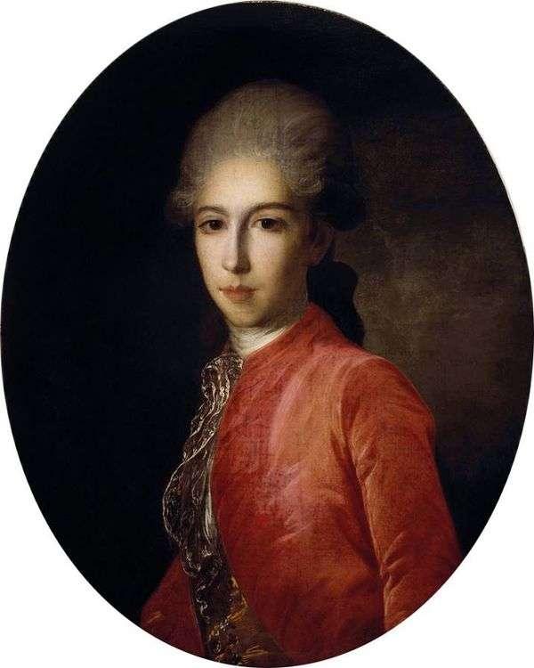 プリンスI. Baryatinsky   Fyodor Rokotovの肖像