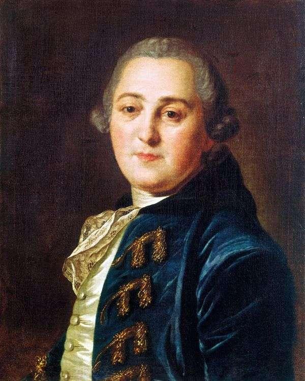 N. A. Demidov   Fedor Rokotovの肖像