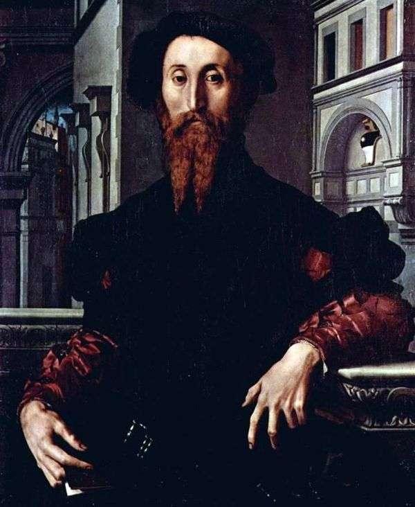 Bartolomeo Panchatica   Agnolo Bronzinoの肖像