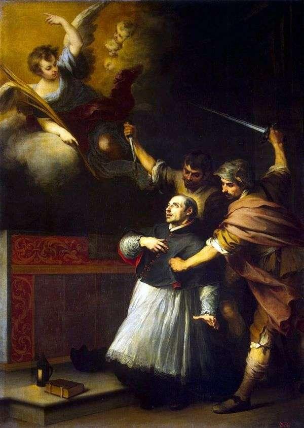 尋問者の死ペドロ・デ・アルブエス   Bartolomeo Esteban Murillo