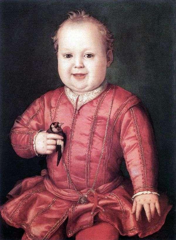 ジョバンニ・メディチ   Agnolo Bronzinoの肖像