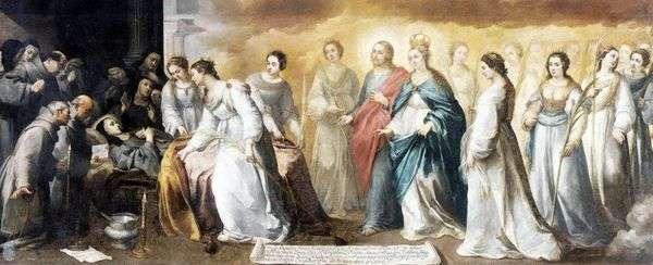 聖クララの死   バルトロメエステバンムリーリョ