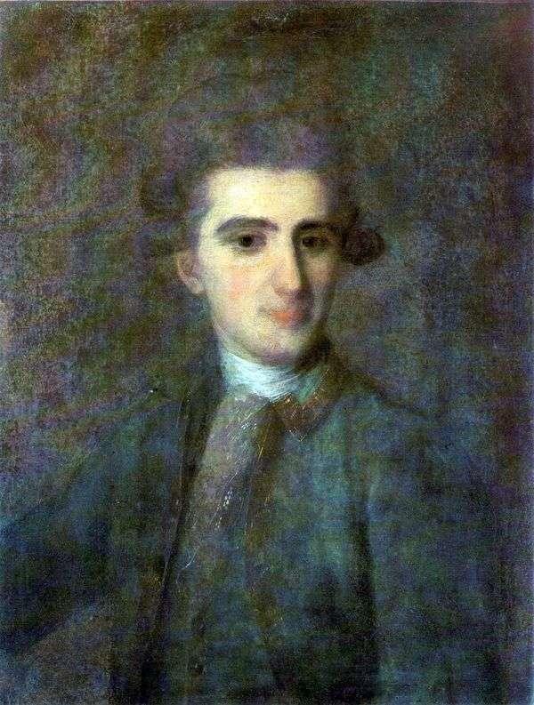 Nikolai Struysky   Fedor Rokotovの肖像