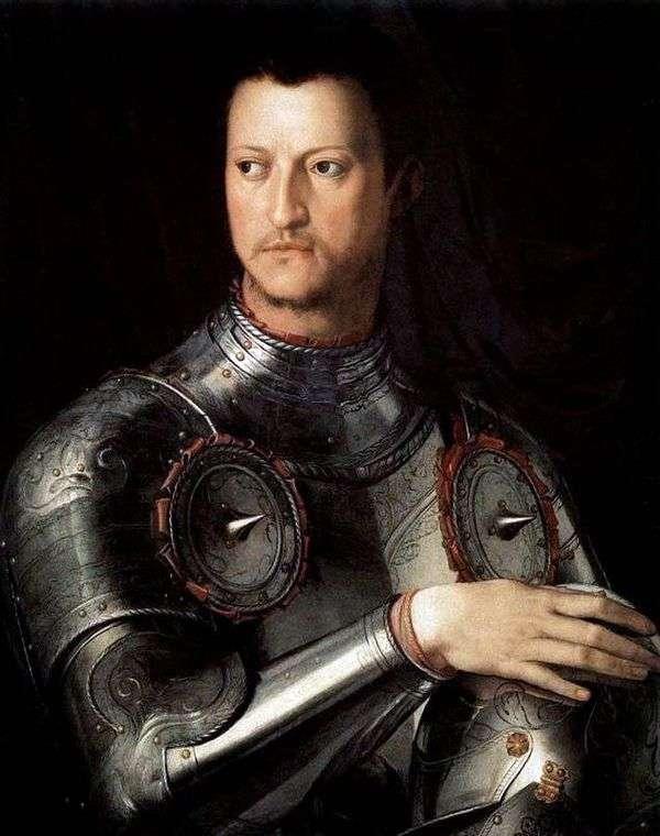 ラットの最初のメディチCosimoの肖像   Agnolo Bronzino