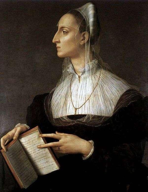 ローラ・バッティフェリの肖像   Agnolo Bronzino