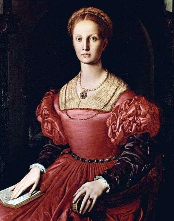 Lucretia Panchatica   Agnolo Bronzinoの肖像