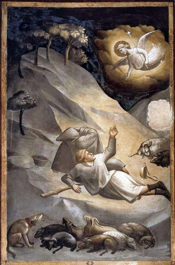 羊飼いへの伝道   Taddeo Gaddi