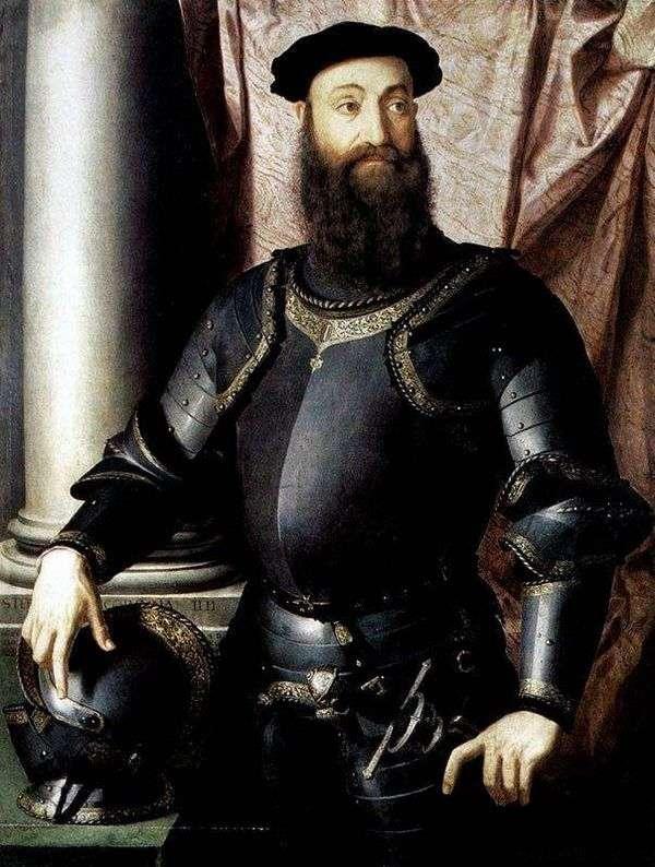 ステファノ・コロンナの肖像   Agnolo Bronzino