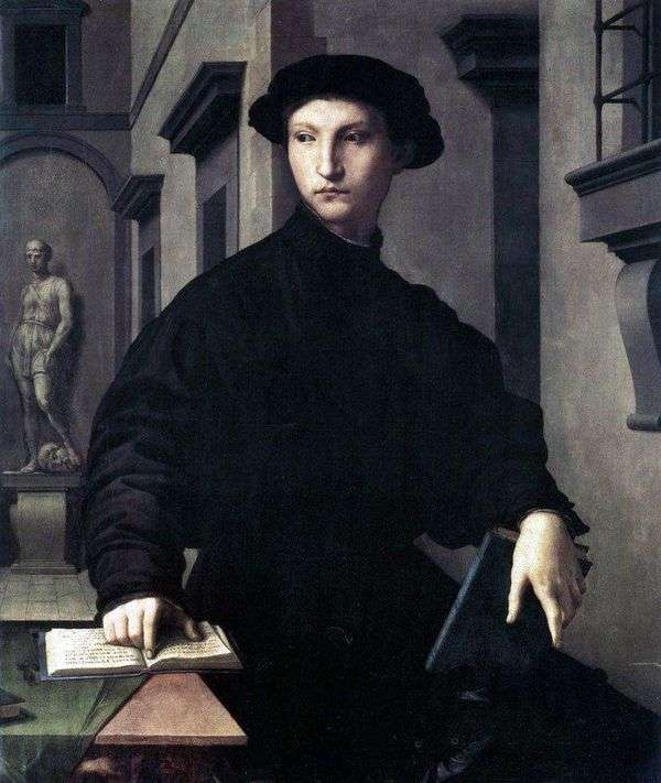 Ugolino Martelli   Agnolo Bronzinoの肖像
